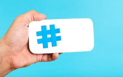 De onde veio a #hashtag?