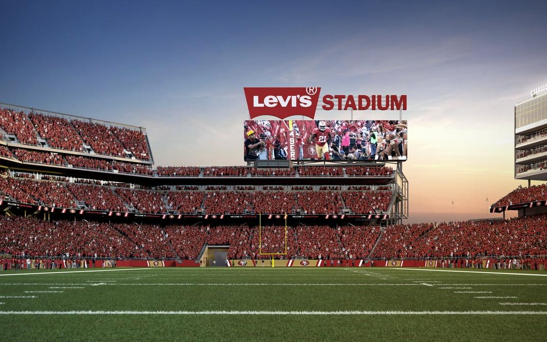 O dia em que a Levi's batizou um estádio